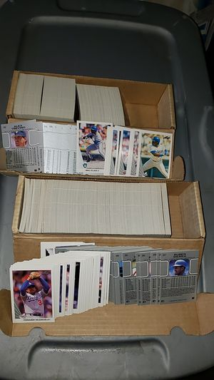 2 boxes with collectible baseball cards for Sale in Kent, WA