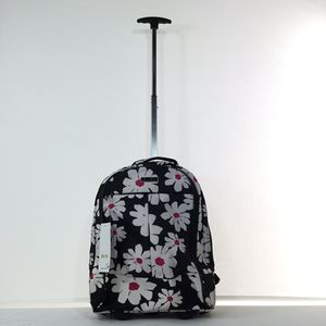 Flower backpack & laptop bag with wheels SALE for Sale in Houston, TX