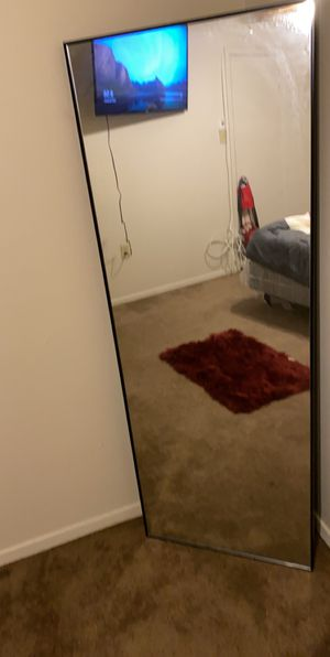 Big tall stand up mirror for Sale in Baton Rouge, LA
