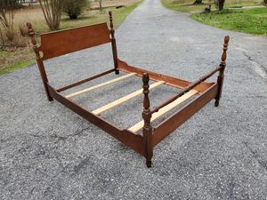 Cherry Full-side Bed frame for Sale in Laurens, SC