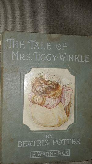 The Tale of Mrs. Tiggy-Winkle First Edition for Sale in Dallas, TX