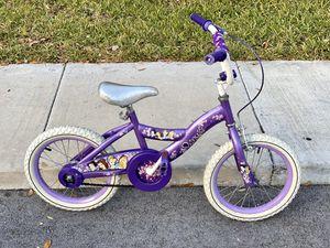 Disney Princess Girls Bike - 16 inch - Purple for Sale in Boca Raton, FL