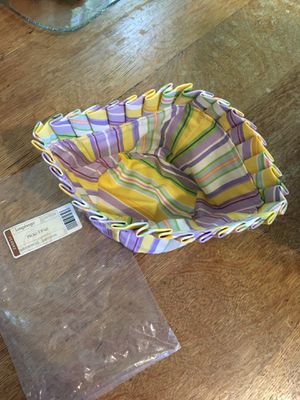 2006 Longaberger Picket Pail Cloth liner for Sale in Greer, SC