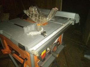 "Ridgid 10"" portable table saw for Sale in Smackover, AR"