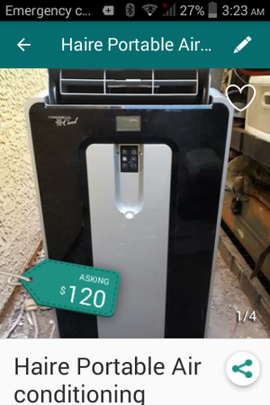 Really nice Haier portable air conditioner for Sale in Las Vegas, NV
