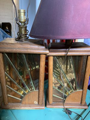 Antique solid wood lamps for Sale in Lincoln, NE