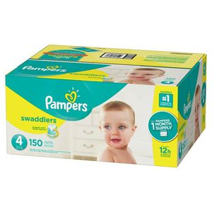 Pampers Swaddlers Size 4 150ct for Sale in Brookline, MA