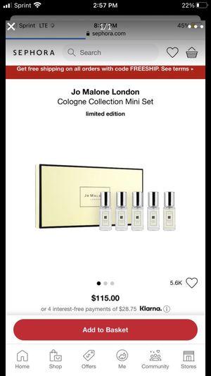 Jo Malone collection for Sale in Corona, CA