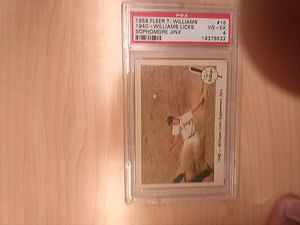 Ted Williams 1959 Graded Baseball Card for Sale in Kissimmee, FL