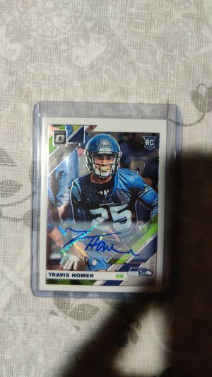 Travis Homer rookie auto card for Sale in Worth, IL