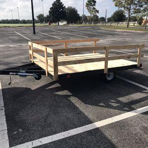 6X8 Flat bed utility trailer for Sale in Umatilla, FL