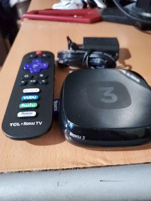 Roku 3 Streaming Media Player for Sale in Philadelphia, PA