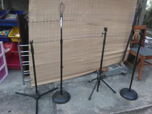 Microphone stands 25.00 each for Sale in Tampa, FL
