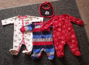 My first Christmas baby clothes newborn for Sale in Cleveland, OH