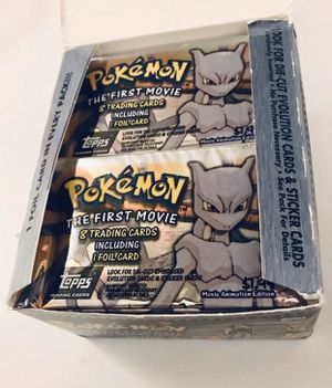 Pokémon Topps First Movie 2 Booster Pack Bundle for Sale in Los Angeles, CA