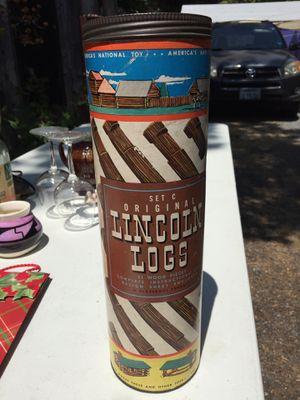Original Lincoln Logs!! for Sale in Santa Rosa, CA