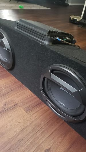 Subwoofer and amp. for Sale in Bowie, MD