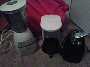 Deal of Today-Can Opener, Coffee Maker and Blender Combo for Sale in Orlando, FL
