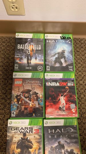 Xbox 360 games for Sale in Mount Vernon, OH
