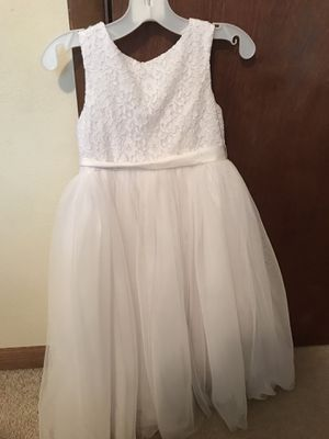 size 6 flower girl dress for Sale in Zion, IL