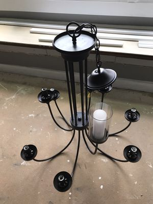 Bronze 9-light chandelier for Sale in Gastonia, NC