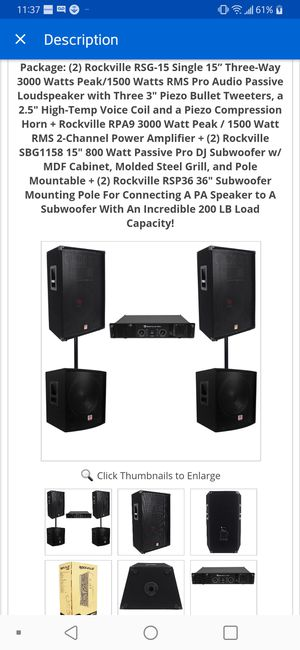 Dj Equipment for Sale in Weymouth, MA