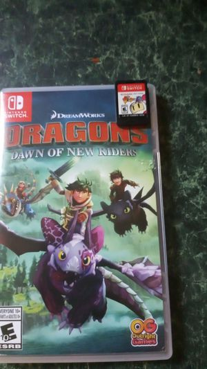 Bomberman and Dragons for Nintendo switch for Sale in Kilgore, TX