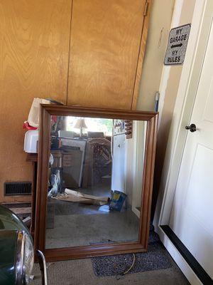 Solid cherry mirror for Sale in Covington, WA