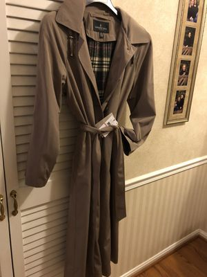 Brand new With tags London Fog raincoat! Makes a great Christmas gift! Check out comparison at Nordstrom's and Macy's! for Sale in Tysons, VA
