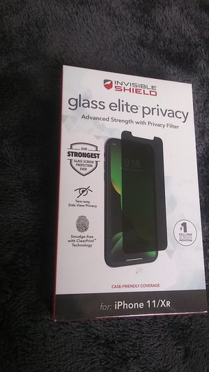 GLASS ELITE PRIVACY ( 11 / XR ) for Sale in Washington, DC