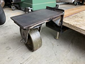 """Mobile steel frame platform with 6x2"""" industrial casters for Sale in Edgewood, WA"""