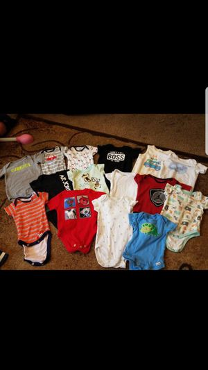 Boy clothes size 0-3 months for Sale in Salt Lake City, UT