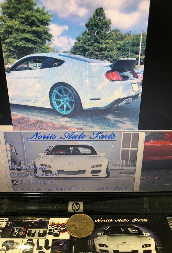 15-18 Ford Mustang DuckBill Trunk Spoiler for Sale in Whittier, CA - OfferUp