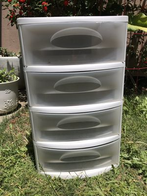 medium plastic drawer for Sale in San Jose, CA