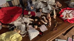Alexander Doll pieces-a collectors dream!! With several dresses etc! for Sale in Calabasas, CA