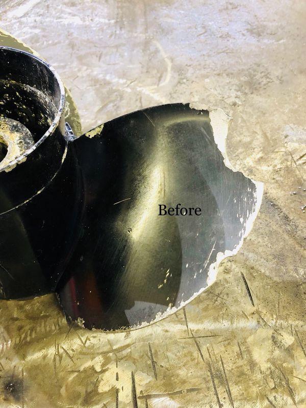 Boat propellers repair