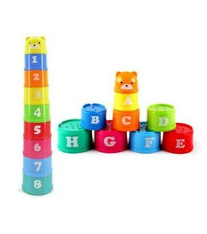 Baby Kids Stacking Nesting Cups Stack Up Learning Tower Activity Toy Game for Sale in Irwindale, CA