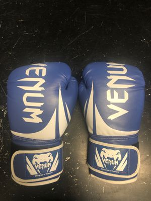 Blue 16oz venom boxing gloves for Sale in Virginia Beach, VA