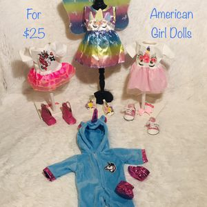 New! Unicorn Doll Outfits for Sale in West Chicago, IL