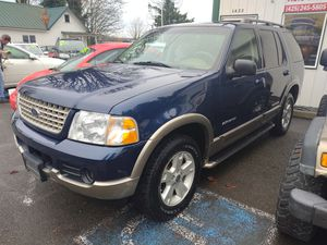 2004 ford explorer Eddie Bauer for Sale in Snohomish, WA