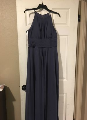 Azazie stormy color bridesmaid dress 6/8 for Sale in Denver, CO