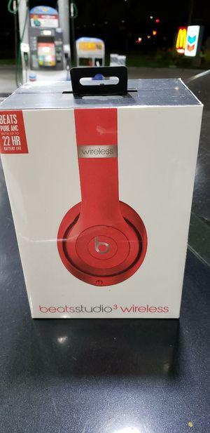 Dre beats studio 3 wireless headphones for Sale in Bellflower, CA