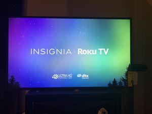 50 inch Insignia Roku 4K HD for Sale in Lynn, MA