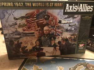 Board game. Axis and Allies Spring 1942 for Sale in Alexandria, VA