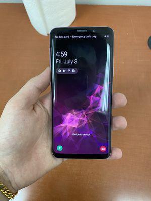 Samsung s9 unlocked for Sale in El Cajon, CA
