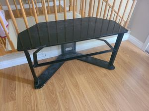 TV stand. 1 glass shelf for Sale in Henderson, NV