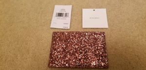 100% Authentic Kate Spade LeatherGrahamCard Case SmallWallet Card Holder WLRU5200 Greta Court (Pink)Dusty Peony for Sale in Germantown, MD