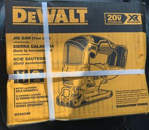Dewalt XR Jigsaw. Tool only! for Sale in Fresno, CA