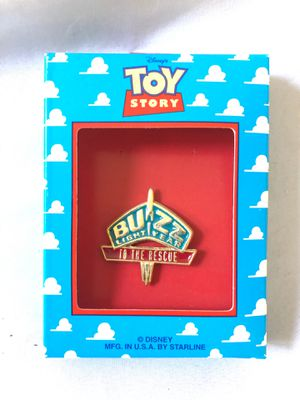 1995 Disney Thinkway Toy Story BUZZ LIGHTYEAR Bendable Figure 62861 New Sealed for Sale in Menifee, CA