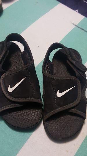 48d13a5fe Toddler boy Nike sandals size 7c for Sale in Edinburg